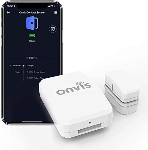 Onvis Tür Fenster Sensor Kabellos Smart Door Window Sensor, Niedrige...