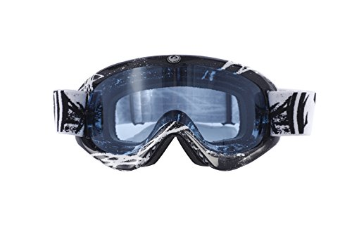Dragon MDX Hydro Masque de Sport Anti buée Homme, Bleu
