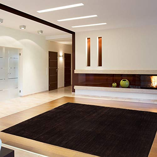 SCHÖNER WOHNEN-collectie, Sahiba, hoogwaardig tapijt, handgeknoopt, 140 x 200 cm, mahonie