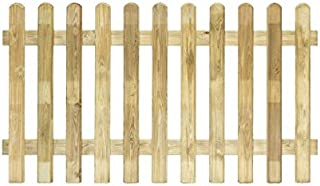 Valla de madera tratada en autoclave, 1800x 800mm