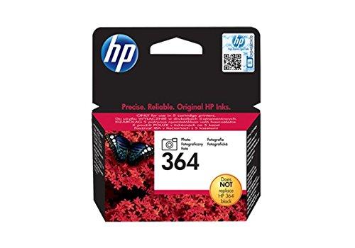 HP 364Tintenpatrone Original 1x foto schwarz 130Seiten Gehäuse Hartschale