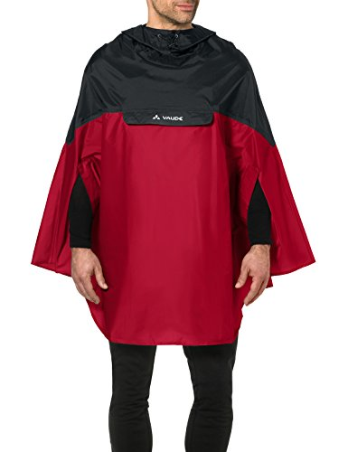 VAUDE Herren Poncho Covero Poncho II, indian red, M, 068096140300