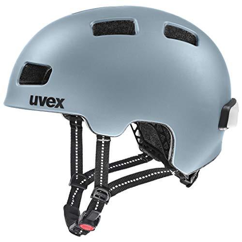 uvex Unisex– Erwachsene, city 4 Fahrradhelm, spaceblue mat, 55-58 cm