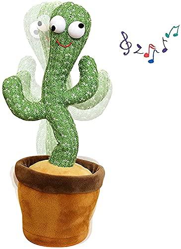 Dansende Cactus, Dansende Cactus, Dansende Cactus Knuffel, Cactus Knuffel Met Licht En Opnamefunctie, Zingende En Dansende Cactus Pluche, Grappig Speelgoed Voor Vroegschoolse Educatie
