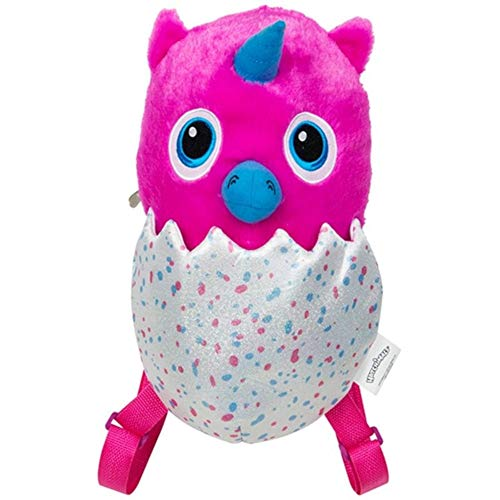 HATCHIMALS HML-O-8258-1 - Mochila de Peluche, Multicolor