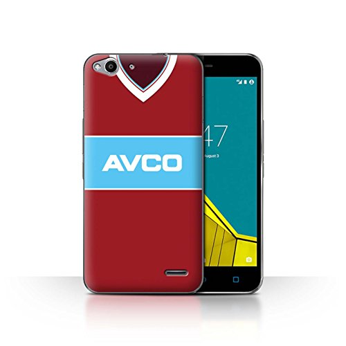 Telefoonhoesje/Cover/Skin/VD-CC/Retro Voetbal/Kit Divisie 1 Collectie Vodafone Smart Ultra 6 West Ham 1984