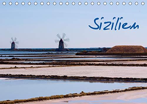 Sizilien (Tischkalender 2021 DIN A5 quer)