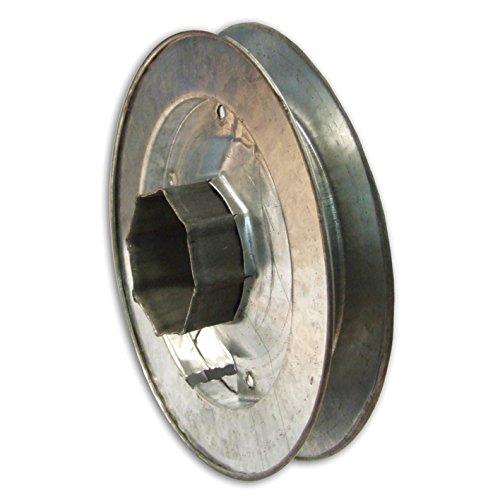 Home System tp45084Polea octogonal para rodillo de hierro, diámetro 220mm, para persiana