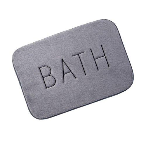 Morbuy Alfombras de baño, Alfombra de Baño de Ducha Espuma de Memoria de...