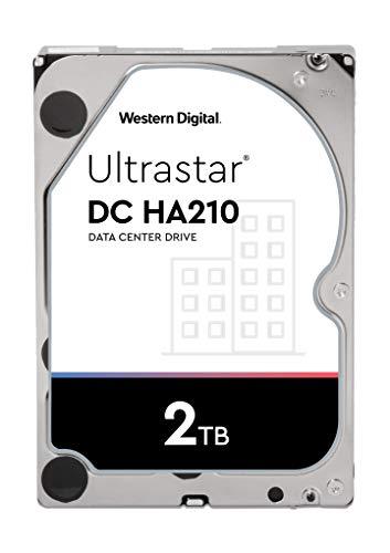 "Western Digital 2 TB Ultrastar 7K2 2000GB SATA HDD 8, 9cm 3, 5"" 26.1mm Cache 128MB 7200RPM SATA Ultra 512N SE"