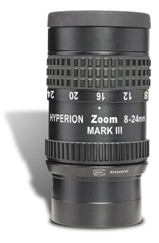 Baader Planetarium 8-24mm Hyperion Clickstop Zoom Mark IV Eyepiece, for 1.25' to 2' Mounts