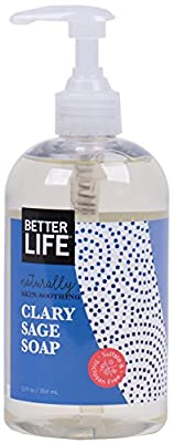 Better Life Hand and Body Soap, Clary Sage, 12 Ounces, 2424J