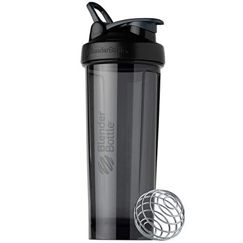 BlenderBottle C02014 Pro Series Shaker Bottle, 32-Ounce, Black