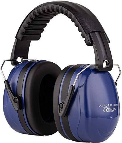 Gehörschützer - Leicht Faltbar und Komfortable Gehörschutz - Kapselgehörschutz mit Hochwertige Geräuschblockierung - Lärmschutz Kopfhörer für Man und Frau - Schutzkopfhörer fur Schiessen BAU Konzert
