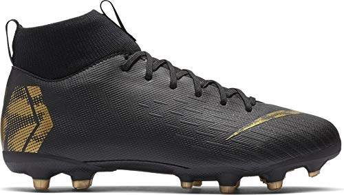 Nike Performance Mercurial Superfly VI Academy MG Fußballschuh Kinder schwarz/Gold, 3Y US - 35 EU - 2.5 UK