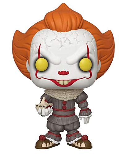 Popsplanet Funko Pop! Movies – IT 2017 – Pennywise (with Boat) (10-inch) #786 Vinyl Figuras 25 cm Reeleased 2019