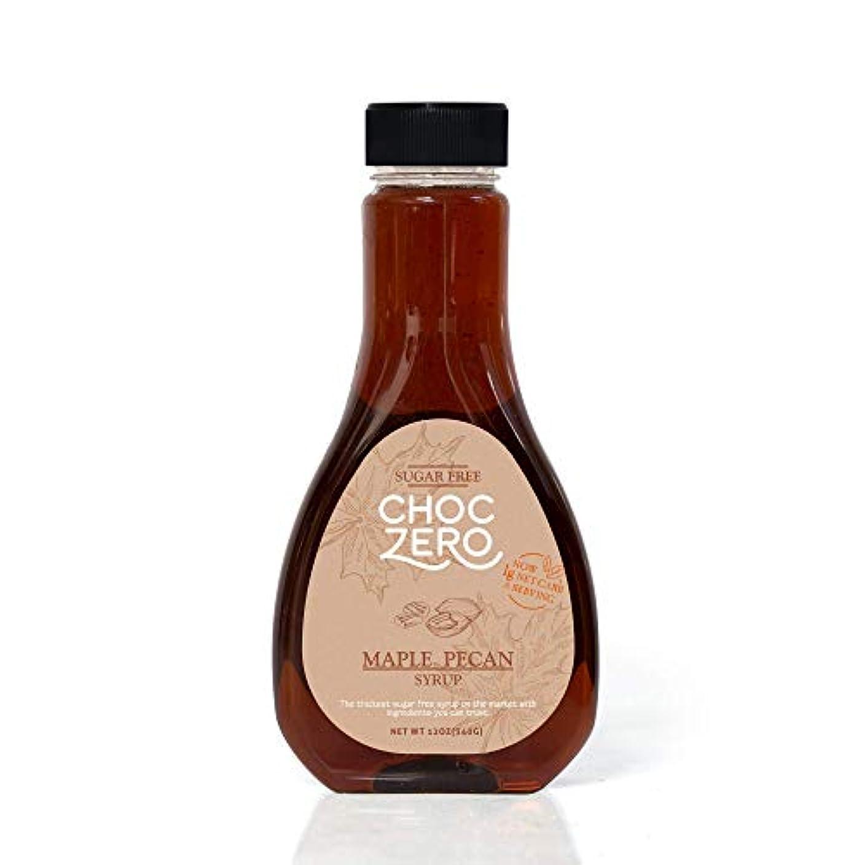 ChocZero's Maple Pecan Sugar-Free Syrup - Low Carb (1 Gram Net Carb), No Sugar, No Preservatives, No Sugar Alcohols. Rich and Thick