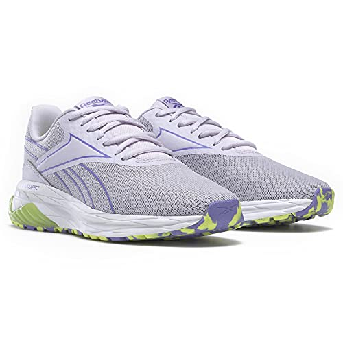 Reebok womens Liquifect 180 2.0 Running Shoe, Luminous Lilac/Hyper Purple/Yellow Flare, 9 US
