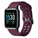 Willful Smartwatch,Fitness Armbanduhr mit Pulsuhr Touchscreen Fitness Uhr IP68 Wasserdicht Fitness Tracker Sportuhr mit Schrittzähler Stoppuhr Smart Watch für Damen Herren für iOS Android...