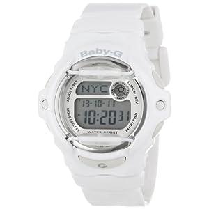 """Casio Women's BG169R-7A """"Baby-G"""" White Resin Sport Watch"""