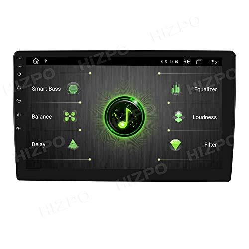 Android 10 OS Universal Car Radio con Mirrorlink Navegación GPS Bluetooth Manos Libres Pantalla táctil de 10.1 Pulgadas...