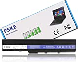 FSKE® A32-K52 A42-K52 Batterie pour Ordinateur Portable ASUS X52J X52F K52 K52F K52J A52J X42F P52F P52J K52JT K52JC K52JR Series Notebook Battery, 6-Cellules 10.8V 5000mAh