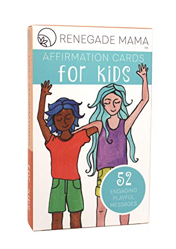 Renegade Mama Kids Affirmation Cards- Daily Positive Affirmations for Kids to Promote Self Love and Confidence