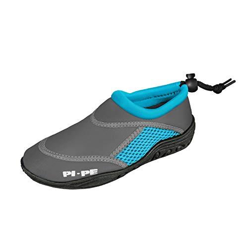 PI-PE Badeschuh Active Aqua Shoes Junior 24 Grey/Cyan