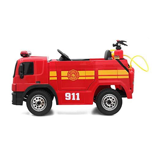 TOBBI Kids Ride on Toys 12V Fire Truck...