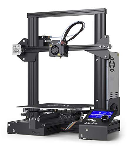 日本正規代理店PeachClover【Creality 3D】Ender-3 3Dプリンター 日本語取扱説明書&アフターサポート 印刷サイズ 220*220*250mm【組立キット】