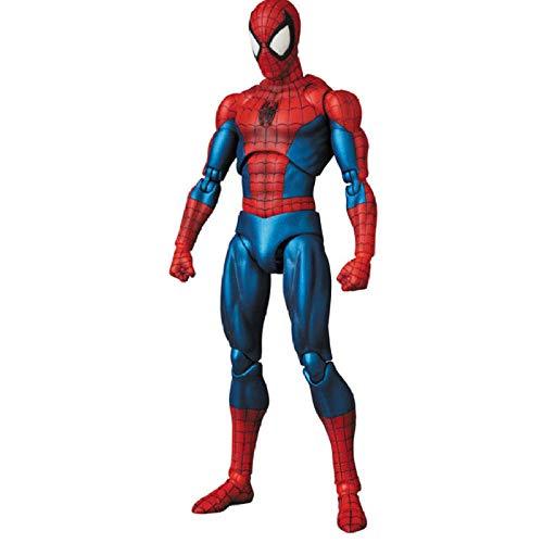 Modello di Statua Animeavengers 4 Endgame Spiderman The Amazing Spider Man Action Figure Model Toys Doll Regalo per Bambini 16Cm