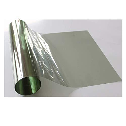 ZXL raamfolie glasfolie hoge lichtdoorlatendheid zonruimte explosiebestendige isolatiefolie balkon raam zonnefolie uv-blokkering rate: 99% (grootte: 0,6 m * 1 mt)