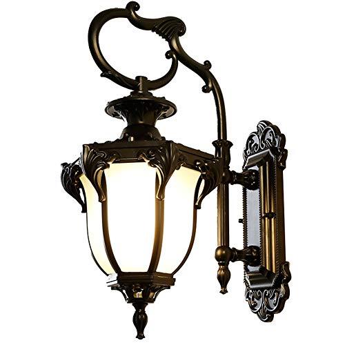 Wy Vintage waterdichte aluminium wandlamp, slaapkamer, tuindecoratie lamp