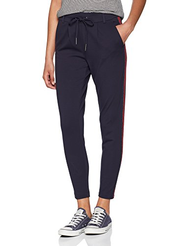 Only Onlpoptrash Easy New Sporty Pnt Noos Pantalones, Gris (Night Sky), W26/L32 (Talla del Fabricante: X-Small) para Mujer
