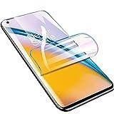 Iiseon Filtro de Premium hidrogel para OnePlus 6T, Protector de Pantalla, 2 Unidades Suave Película Protectora [Transparente] [Alta sensibilidad] (Película no templada)