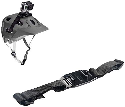 Hensych - Correa para Casco con Adaptador de Montaje de liberación rápida para GoPro Hero cámara de acción/Osmo para Casco ventilado