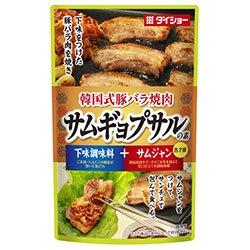 ダイショー 韓国式豚バラ焼肉 サムギョプサルの素 100g×20(10×2)袋入×(2ケース)
