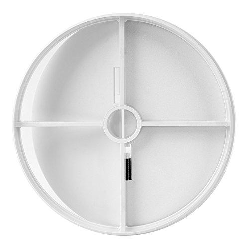 Ø 120mm La ventilación Junta de ABS con válvula de mariposa anti-retorno,...