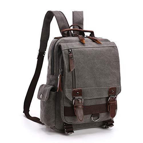 Leinwand Rucksack männer Reise Rucksack multifunktionale umhängetasche Frauen Laptop Rucksack schultaschen weibliche Daypack