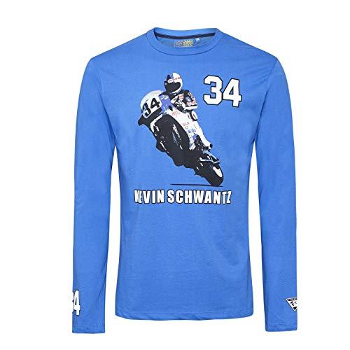 Nuevo Official Kevin Schwantz Camiseta Blanca