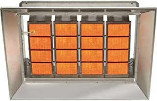 SunStar Heating Products Infrared Ceramic Heater - NG, 155,000 BTU, Model Number SG15-N