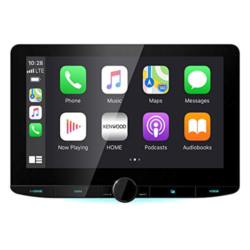 """Kenwood DMX1037S 10.1"""" High Definition Car Stereo Receiver with Capacitive Touch Panel"""