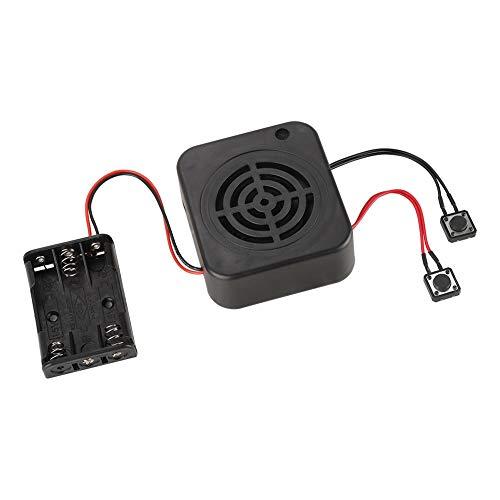 Yosoo Health Gear Módulo de grabación de Bricolaje, Caja de grabación de Voz de 2 Minutos/4 Minutos para Insertos de Animales de Peluche y proyectos artesanales(4 mins)