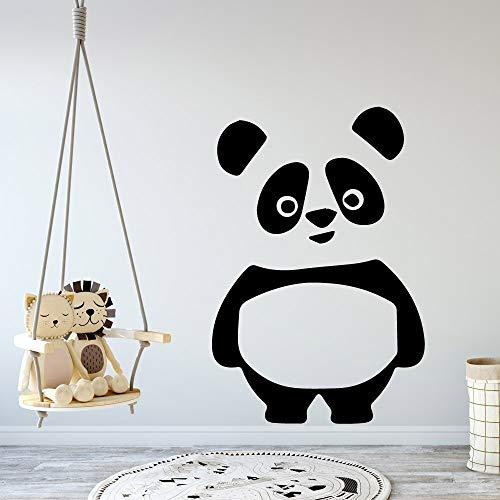 Yaonuli Schönheit Panda Comic-wandsticker voor kinderkamer wanddecoratie
