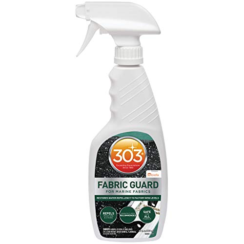 303 Marine Fabric Guard - For Marine Fabrics - Restores Lost Water Repellency To Factory New Levels...
