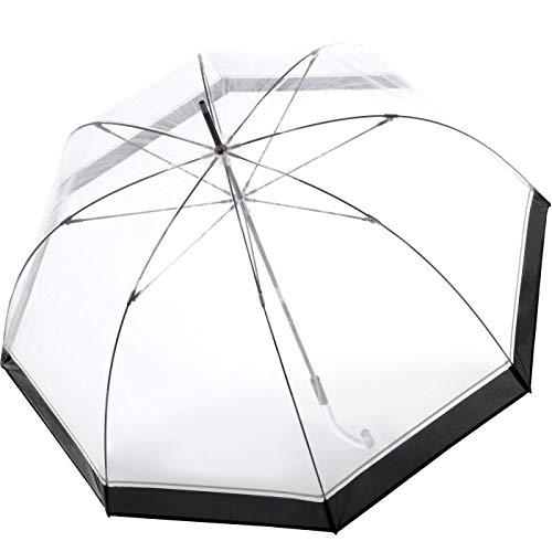 Knirps C.760 Regenschirm Stockschirm Stick transparent durchsichtig Hyperion
