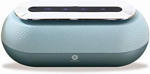 Conceptronic DUNKAN01B 10 W Azul - Altavoces portátiles (10 W, 60-18000 Hz, 95 dB, 0,5%, Inalámbrico y alámbrico, MicroUSB)