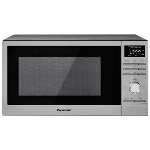 Panasonic NN-SD69LS 1.3 Cu. Ft. 1100W Cooking Power Electromechanical Microwave Controls Turbo Defrost Function Countertop Microwave Oven (Renewed)
