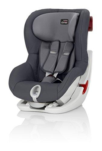 Britax Römer Kindersitz 9 Monate - 4 Jahre I 9 - 18 kg I KING II Autositz Gruppe 1 I Storm Grey