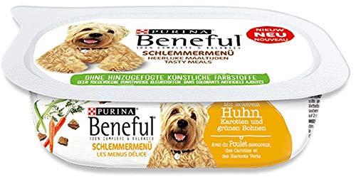 Beneful Schlemmermenü Huhn | 6X 200g Hundefutter Nass